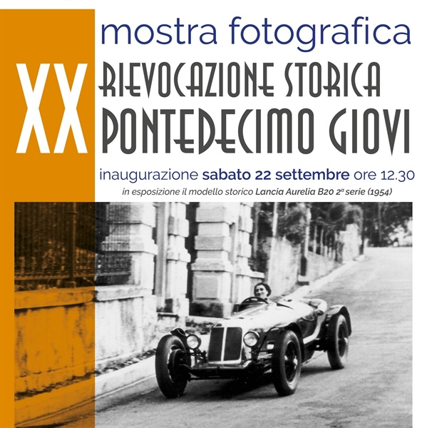 Saturday September 22nd:  inauguration of photographic exhibition for the XX Pontedecimo Giovi historical reenactment
