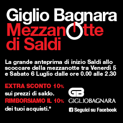 Midnight of Sale at Giglio Bagnara