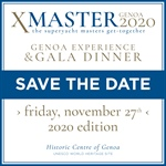 Il 27 Novembre torna a Genova XMASter - The superyacht masters get-together