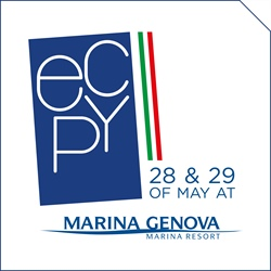 THE FIRST ECPY OPEN DAY IN ITALY at Marina Genova