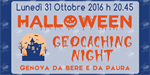 Halloween geocoaching night